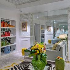 Contemporary Living Room by Maria Barros Design de Interiores