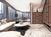 Wow.. love the marble flooring!