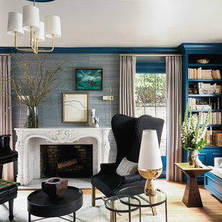 75 Beautiful Living Room With A Music Area Pictures Ideas February 2021 Houzz