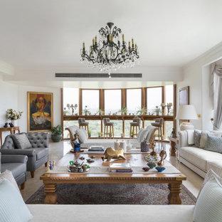 Immagine di un soggiorno american style