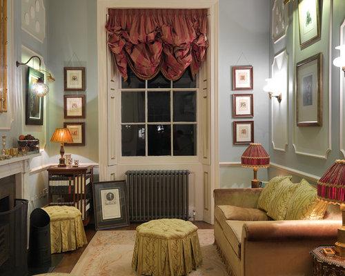 Small victorian living room design ideas remodels for Small victorian living room ideas