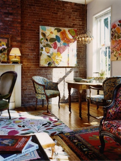 Eclectic Living Room by Go Nautical Collections