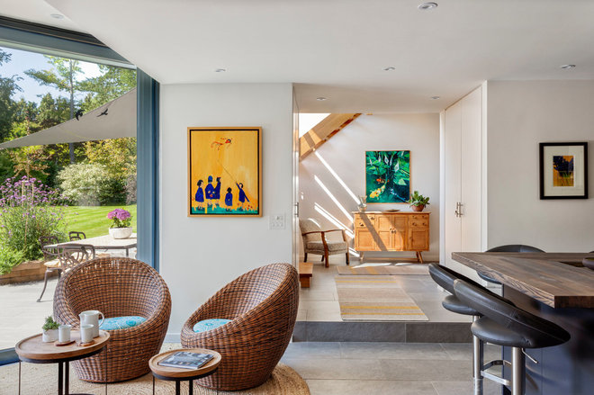 Contemporary Living Room by Penton Architects
