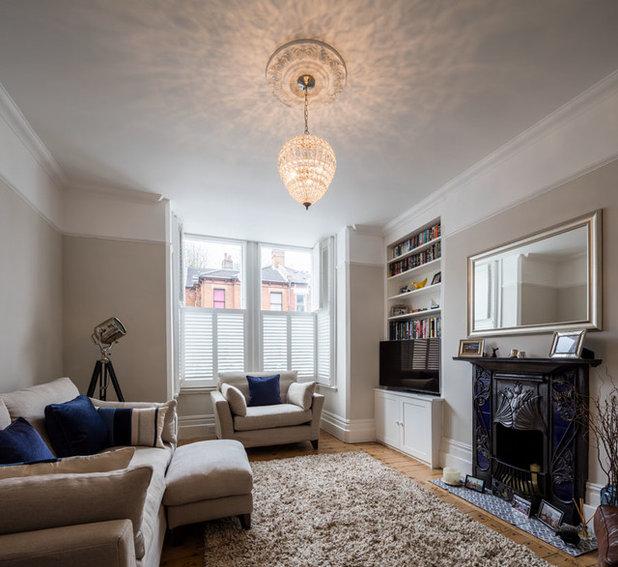 Scandinavian Living Room House Extension
