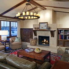 Traditional Living Room by Cramer Kreski Designs