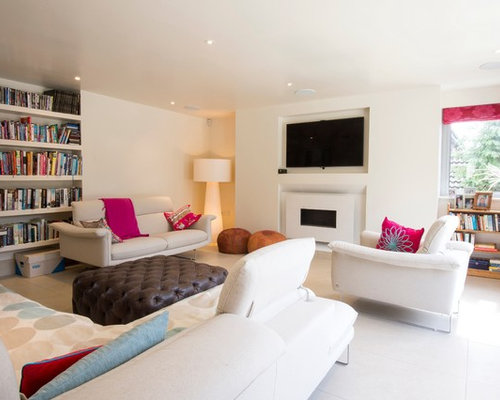 modern living rooms houzz. inspiration for a contemporary living room remodel in london modern rooms houzz s