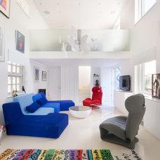 Contemporary Living Room by Gort Scott