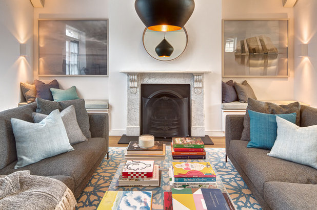 What To Do With Your Fireplace Alcoves