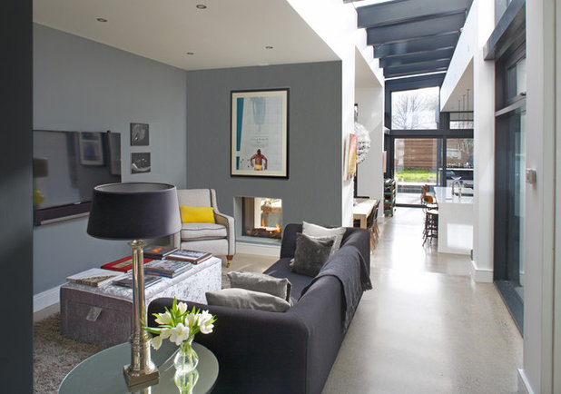 Contemporary Living Room by Optimise Design