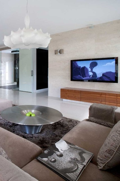 modern living room by nasciturus design