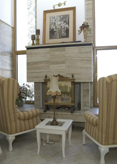 Mediterranean Living Room by ASMMobili