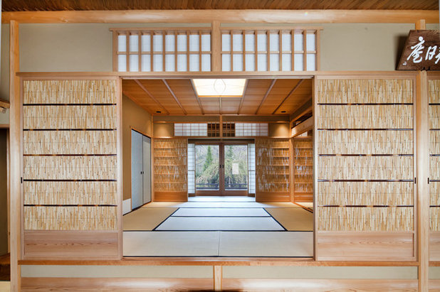 Architecture grands principes de la maison for Salle de bain japonaise traditionnelle