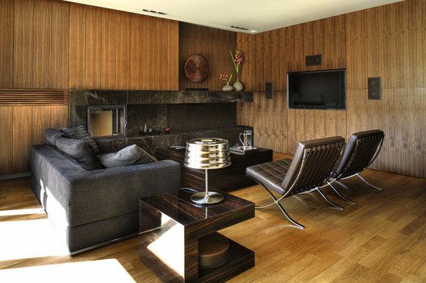 Contemporary Living Room by Exit - Interior design