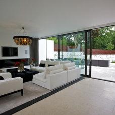 Contemporary Living Room by Sacha Jacq Interiors