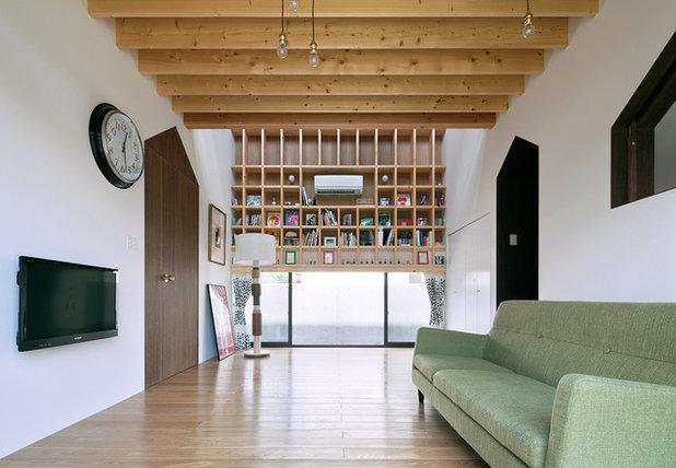 コンテンポラリー リビング by 伊藤憲吾建築設計事務所 Ito Kengo Architects