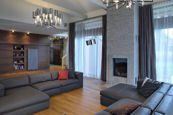 Modern Living Room by RS STUDIO PROJEKTOWE