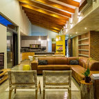 House Mosi Contemporary Living Room By M Square