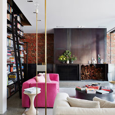 Contemporary Living Room by Jolson