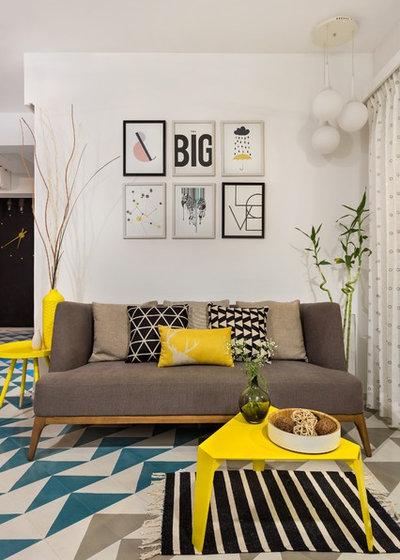 Modern Living Room by Studio Nishita Kamdar
