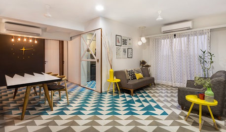 15 Living Rooms That Floor You With Their Tiles