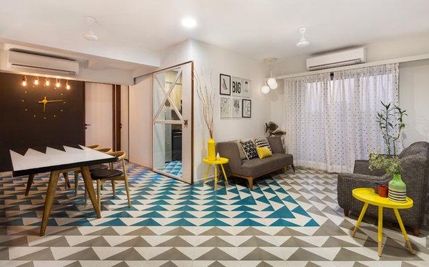 Modern Family Room by Studio Nishita Kamdar