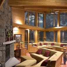 Contemporary Living Room by Designworks