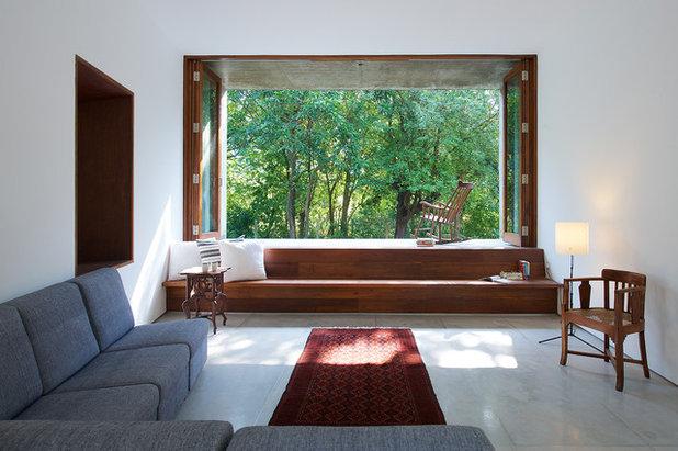 Minimalistisch Wohnbereich by Architecture BRIO