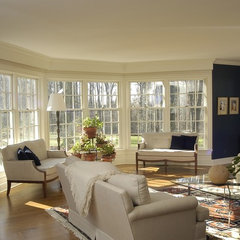 traditional living room by Joseph B Lanza Design + Building