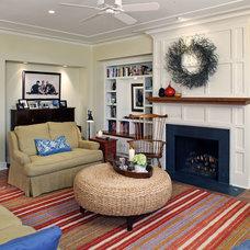 Traditional Living Room by Cramer Kreski Designs