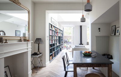 Houzz Tour: A Smart Layout and Storage Transform a Victorian Home