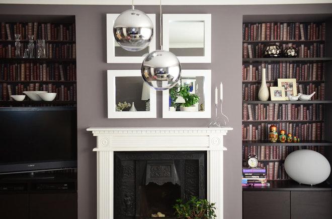 Contemporary Living Room by Larysa Lunin Interior Design