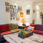 Sydenham Home Eclectic Living Room London By Chris