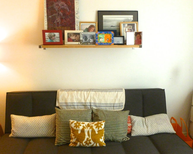 Eclectic Living Room House tour: Small eclectic San Francisco Family home