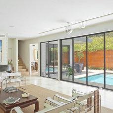 Contemporary Living Room by Alison Mountain Interior Design