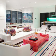 Contemporary Living Room by Opus Audio | Video | Control Inc.