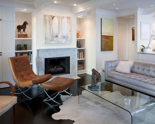 Carrara Marble Fireplace Surround | Houzz