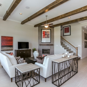 Houston, Texas | Lago Mar - Classic Yale Living Room