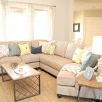 Color Of The Year 2014 Living Room Transitional