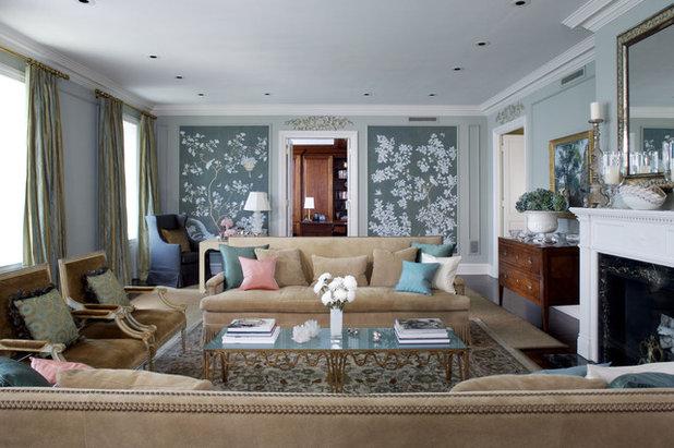 Traditional Living Room Houzz Photo