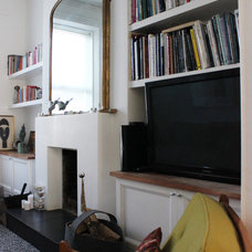 Traditional Living Room by April and the Bear