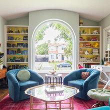Houzz США: Цветной дом в Лос Анджелесе