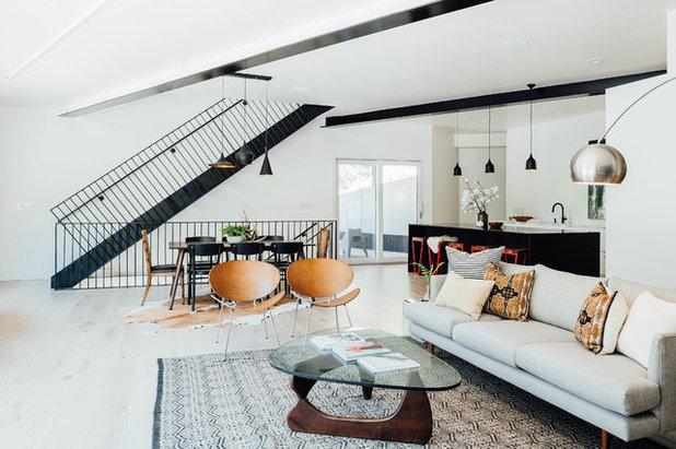 Living Room by Park City Design Build