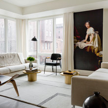 Houzz Tour: Art and Natural Light Shine in a Contemporary Flat