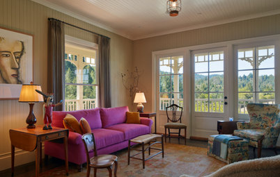 Houzz Tour: Southern Charm in the California Wine Country