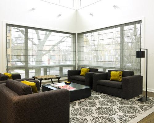 Living Room Blinds | Houzz