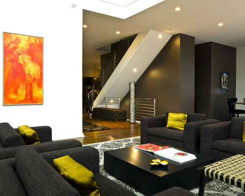 Charcoal Sofa Home Design Ideas Pictures Remodel And Decor