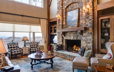 Houzz Tour: Rustic Cabin Meets Country Cottage in North Carolina