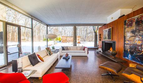 Houzzツアー:ガラスの家の住み心地