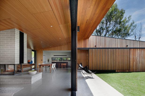 Modern Wohnbereich by Bower Architecture