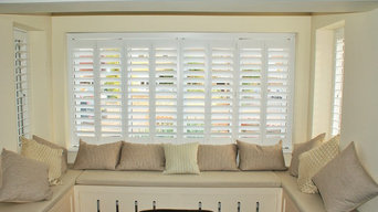 How to dress a Bay Window with shutters